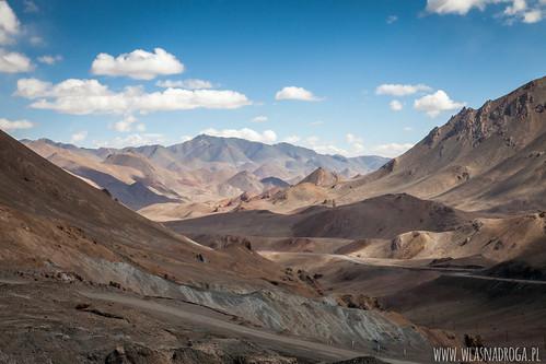 Widok z przełęczy Ak Bajtał
