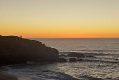 Day's End - Montara Beach (Biking Nikon SFO) Tags: california sunset waves pacificocean sanmateocounty