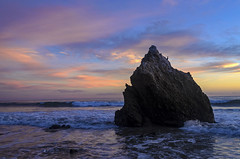 Endless Dusk (Plotz Photography) Tags: world ocean california travel sunset sea sky usa seascape beach nature water beautiful rock clouds landscape outdoors coast waves unitedstates pacific dusk malibu pacificocean southerncalifornia westcoast elmatador worldtravel