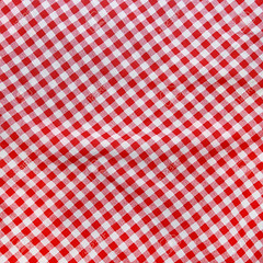 mini meggan (Meggan Jully) Tags: red white texture vintage square pattern linen background country gingham textile fabric cotton blanket backdrop cloth tablecloth weave textured crumpled creased crumple