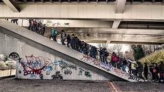 Urban Flock (Gian.luca) Tags: urban rome roma boys graffiti ragazzi gregge