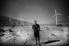 ME - Sea Of Windmills - Palm Springs (Brandon Ebel) Tags: windmill wind palmsprings