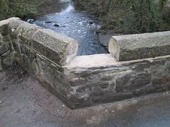 New Bridge Damage Dartmoor (Bridgemarker Tim) Tags: damage dartmoor newbridge devonbridges