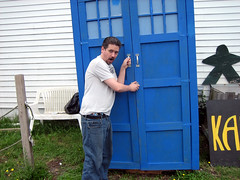 20140801 0927 - BronyCon 2014 - on the way - toy store - Clint with the TARDIS - IMG_0735 (Rev. Xanatos Satanicos Bombasticos (ClintJCL)) Tags: funnyface tv funny comedy live cartoon entertainment doctorwho convention opening tvshow clint delaware tardis cartoons mylittlepony bethanybeach 2014 liveaction cartoonshow liveactionshow 201408 mylittleponyfriendshipismagic bronycon convention2014 20140801 bronycon2014 conventionbronycon bronyconconvention conventionbronycon2014 bronyconconvention2014