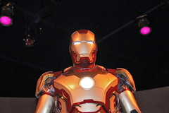 Iron Man's Hall of Armor in Disneyland (GMLSKIS) Tags: disney california amusementpark disneyland ironman hallofarmor anaheim