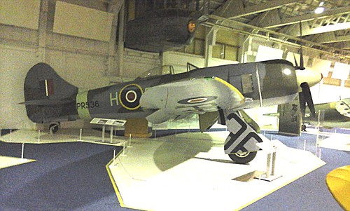 Hawker Tempest II PR536 at RAF Museum, Hendon 05.03.16
