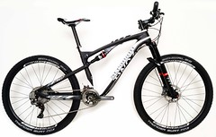 Stradalli Two 7 Full Carbon Fiber Dual Suspension Mountain Bike (Stradalli.com) Tags: mountains sports outdoors suspension swiss racing full cycle mtb dual carbon dt shimano mountainbikes stradalli 650b