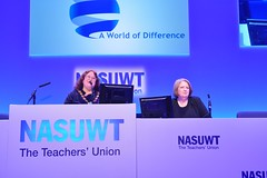 Annual Conference 2016 (nasuwt_union) Tags: nasuwt education conference woman man black white speaking stand hall meal drinks happy members workshop pesident birmingham banner meeting stage positive portrait guidance crowd teachers leaders lectures students awards executive staff show tell help advice support listen adults people england scotland northern ireland wales strong women men insturction health safetly wellbeing classroom school college university table voting union best brilliant workplace seminar
