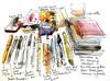 What's in my sketch kit? (suhita1) Tags: sketchkit suhita urbansketcher