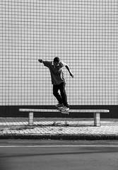 Junior Lopes - B/s Lipslide (henriiquesantos) Tags: branco skateboarding preto e parana cascavel