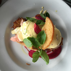 Is It Eggs with salmon at Is It Cafe in Prahran for breakfast (ultrakml) Tags: food breakfast egg australia melbourne victoria iphoto prahran poached benedict appleiphone6splus isitcafe