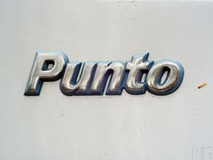 Fiat Punto logo (marcogariboldi) Tags: auto car punto automobile fiat convertible cabrio yashica cabriolet yashinon tomioka 1255