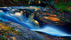 Go With the Flow (ROPhoto77) Tags: longexposure motion green wet water river woods rocks outdoor maine rocky waterfalls ronn riverscape orenstein