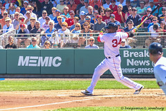 Papi swings for the fence (bsomberg) Tags: baseball redsox springtraining davidortiz fortmyersfloridausa jetbluepark