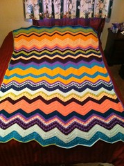 Tami Casey (The Crochet Crowd) Tags: game stitch right blanket afghan throw crochetblanket thecrochetcrowd stitchisright