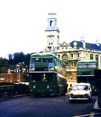 Slide 055-50 (Steve Guess) Tags: uk england bus kent district gb medway maidstone leyland atlantean