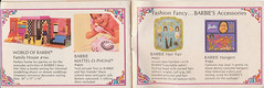 Living Barbie Booklet (neshachan) Tags: livingbarbie barbiebooklet livingbarbiebooklet worldofbarbiefamilyhouse barbiehouse mattelophone hairfair hangers