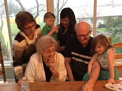 "Aunt Pam, Grandma Shirley, Grandpa Miller, Emily, Paul, and Inde Watch YouTube at Easter • <a style=""font-size:0.8em;"" href=""http://www.flickr.com/photos/109120354@N07/26019343834/"" target=""_blank"">View on Flickr</a>"