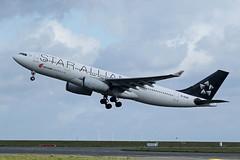 Air China   A330-243   B-6091 (Globespotter) Tags: china star air cs pariscdg alliance a330243 b6091