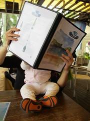 Ordering our Lunch (wilwilwilsonsonson) Tags: baby daddy father papa bb fatherhood 爸爸 寶寶 父親 父愛