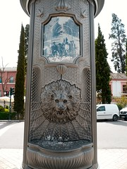 Grenade, Andalousie (Marie-Hlne Cingal) Tags: espaa andaluca iron lion fuente leon granada grenade espagne fontaine fer andalousie
