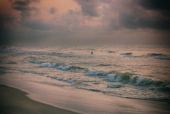 Thanni la oruvan. (Prabhu B Doss) Tags: sea india beach clouds marina landscape fishermen tamilnadu bayofbengal incredibleindia nikond80 prabhubdoss
