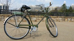 1968 Raleigh Sports (MPalima Photography) Tags: nottingham england sports bike bicycle vintage raleigh sturmeyarcher dl22 bronzegreen