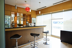 Bar counter (A. Wee) Tags: bar indonesia airport lounge jakarta esplanade cgk   soekarnohatta