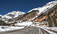 HDR photo of the Million Dollar Highway (Alaskan Dude) Tags: travel mountains nature landscape scenery colorado telluride durango milliondollarhighway