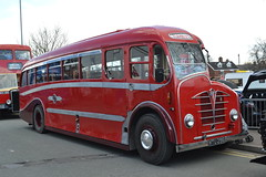 Coppenhalls MTU296 (Will Swain) Tags: county uk travel england west bus english heritage buses cheshire britain south country north transport vehicles april vehicle preserved 17th 2016 mtu296 coppenhalls