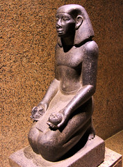 Statue in the Nubian Museum, Aswan (martin97uk) Tags: africa cruise river egypt nile aswan