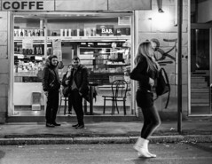 "Ciccio Lonardelli-Pausa... (davanti al) caffe (""Tempo & Diaframma"") Tags: coffee caff caffe pausa tempoediaframma"