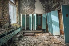 Sperrgebiet Tschernobyl - Prypjat Kindergarten (Nils Grudzielski) Tags: abandoned decay leer urbanexploration kindergarten 1986 zone verlassen chernobyl urbex marode tschernobyl verfallen lostplaces prypjat pripjat