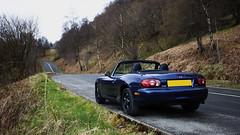 Miata at Duke's Pass (gdelargy) Tags: road car mazda miata mx5 aberfoyle dukespass canonef1740mmf40lusm