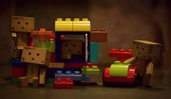 Danbos and Legos (~Erick J~) Tags: nikon legos danbo