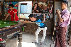 A pool game in Shan State, Myanmar. (Jeff Williams 03) Tags: outside myanmar shanstate poolmatch