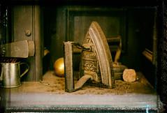 Flat Iron (David W Tait) Tags: fire fireplace iron antique steel hearth aged range flatiron