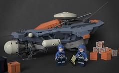 Scout ship (Sunder_59) Tags: lego render space scifi spaceship spacecraft starship moc blender3d mecabricks
