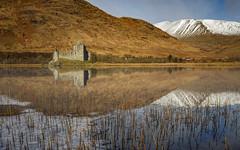 Kilchurn Castle (Dave Holder) Tags: snow mountains castle canon reflections landscape scotland ruin loch munros lochawe kilchurncastle argyleandbute ef1740l canon6d