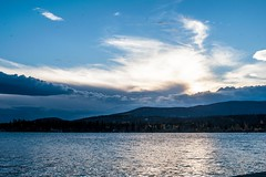 Grand Lake, Colorado sunset (Jay Dee Texas) Tags: sunset lake clouds colorado grandlake rockymountains coloradorockies