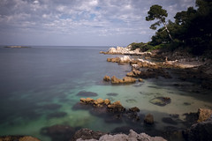 The Creek (fredMin) Tags: sea france color alpes long exposure mediterranean fuji ngc cap fujifilm antibes maritimes dazur xt1