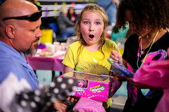 Surprised (supimtaylor23) Tags: birthday girl happy indianapolis gifts presents shocked shopkins