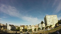 Painted Ladies Time-Lapse (matt knoth) Tags: clouds timelapse san francisco fullhouse fullerhouse