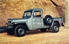 1954 Willys Jeep 1-Ton Truck (aldenjewell) Tags: truck drive jeep postcard pickup 1954 willys 1ton 4wheel