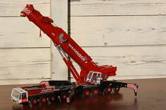 DSC03710 (Wilfred de Groot) Tags: big hobby cranes homemade precious rig heavy beautifull scalemodel heavyduty terex heavylifting wagenborg demag ac700