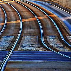Linjene -|- The lines (erlingsi) Tags: street lines norway track bergen sq spor linjer bybanen