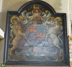 Broad Hinton, Wiltshire (Sheepdog Rex) Tags: royalarms broadhinton stpeteradvinculachurch
