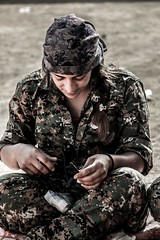 Kurdish YPG Fighter (Kurdishstruggle) Tags: liberty war fighter military revolution hero syria warrior feminism combat revolutionary feminist struggle kurdistan azadi syrien kurdish kurd kurds krt isil rojava ypg kurden suriye kmpfer afrin freedomfighters pyd militaryforces militarywomen efrin warphotography defenceforces revolutionarywomen femalefighters freekurdistan hasakah womenfighters freiheitskmpfer resistancefighter kobani ypj kurdishregion berxwedan kurdishfighters kurdishforces syriakurds syrianwar kurdishfreedomfighters kurdisharmy yekineynparastinagel jinenazad kurdssyria kurdischekmpfer rojavayekurdistan ypgypj servanenypg ypgrojava kurdishmilitary kurdsisis krtsuriye kobane ypgkobani ypgkurdistan ypgfighters ypgwomen westernkurdistan ypgforces heseke ypgkmpfer kurdishwomenfighters kurdishfemalefighters