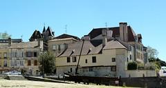 Depuis le Quai Salvette (brigeham34) Tags: france faades maisons eu dordogne chteau visite toits bergerac vieilleville aquitaine ruelles gabare maisonscolombages fz45 quaisalvette