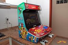 Bartop Top UPMG - Mario Bros (Ultra Power Mega Game) Tags: video arcade mario led mame bros multi jogos sanwa fliperama bartop botes retrovideogames hyperspin multijogos